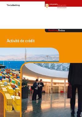 Banking Today - Activité de crédit
