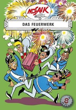Mosaik von Hannes Hegen: Das Feuerwerk