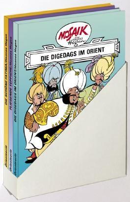 Mosaik von Hannes Hegen: Orient-Serie, 3 Bände im Schuber
