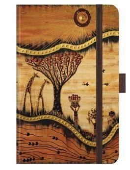"Premium Notes Small ""AfricanArt - Landschaft"""