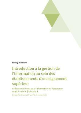 Introduction à la gestion de l'information au sein des établissements d'enseignement