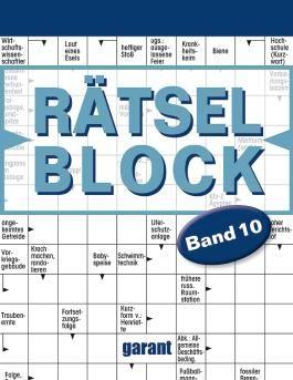 Rätselblock Band 10