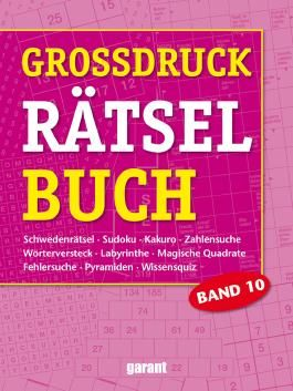 Grossdruck Rätselbuch Band 10