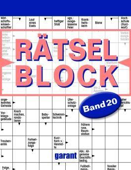 Rätselblock Band 20