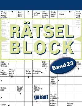 Rätselblock Band 23