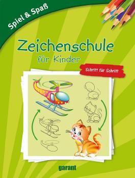 Zeichenschule für Kinder - Schritt für Schritt