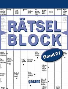 Rätselblock Band 27