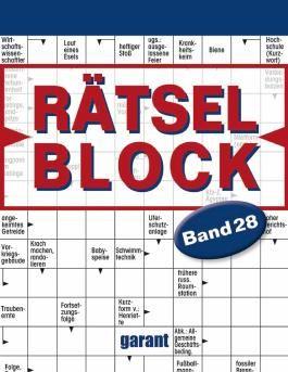 Rätselblock Band 28