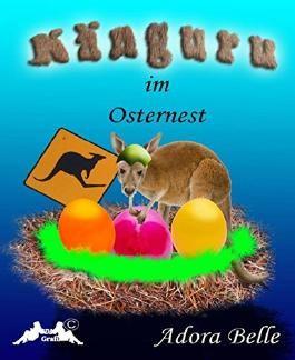 Känguru im Osternest