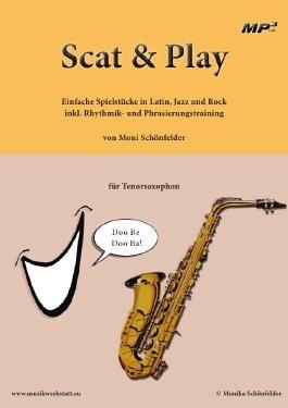 Scat and Play für Tenorsaxophon