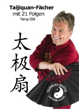 Taijiquan-Fächer mit 21 Folgen Yang-Stil