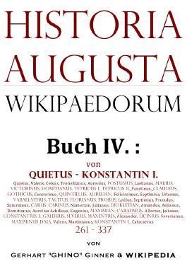 Historia Augusta Wikipaedorum / Historia Augusta Wikipaedorum Buch IV.