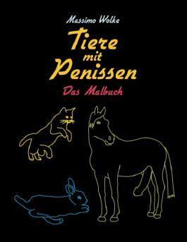 Tiere mit Penissen - Das Malbuch