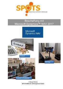 Microsoft Dynamics™ NAV2017 / Beschaffung mit Microsoft Dynamics™ NAV2017/Bd. 3