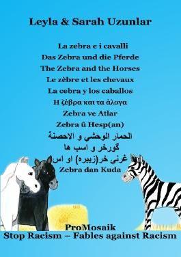 La zebra e i cavalli