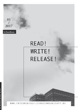 Intermediale Schreibwerkstatt an der MSH Medical School Hamburg / Read! Write! Release!