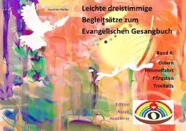 Leichte dreistimmige Begleitsätze zu Liedern des Evangelischen Gesangbuchs