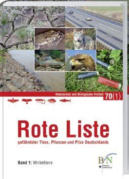 Rote Liste gefährdeter Tiere, Pflanzen und Pilze Deutschlands