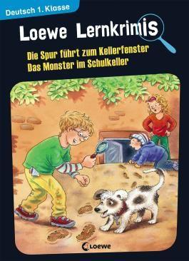 Loewe Lernkrimis - Die Spur führt zum Kellerfenster / Das Monster im Schulkeller