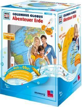 """WAS IST WAS Columbus Globus """"Abenteuer Erde"""""""