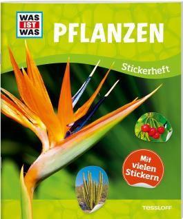 WAS IST WAS Sticker-Heft Pflanzen