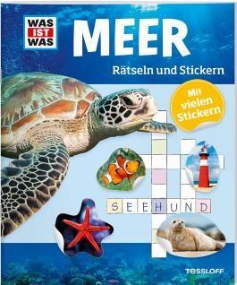 Rätseln und Stickern: Meer