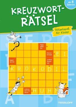 Kreuzworträtsel. Rätselspaß für Kinder ab 8 Jahren