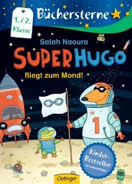 Superhugo fliegt zum Mond!