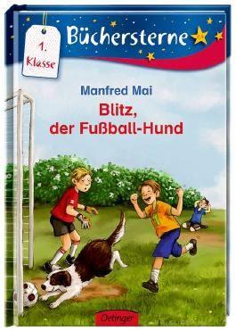 Blitz, der Fußball-Hund