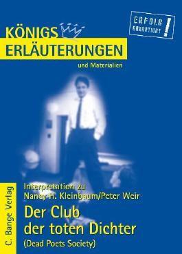 Kleinbaum. Der Club der toten Dichter /Dead Poets Society