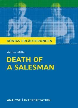 Arthur Miller 'Tod des Handlungsreisenden'. Death of a Salesman