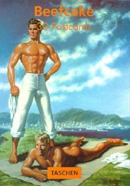 Beefcake Postcard Book (PostcardBooks)