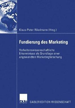 Fundierung des Marketing