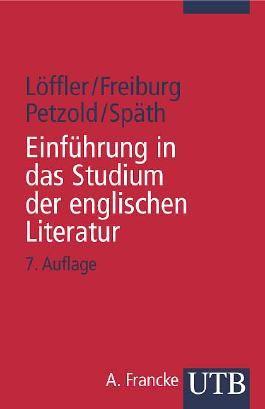 Einführung in das Studium der englischen Literatur