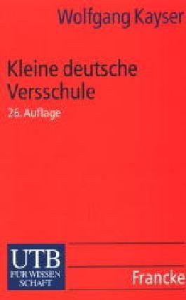 Kleine deutsche Versschule