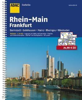 ADAC Stadtatlas Rhein-Main/Frankfurt 1:20 000