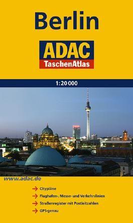 ADAC TaschenAtlas Berlin 1:20 000
