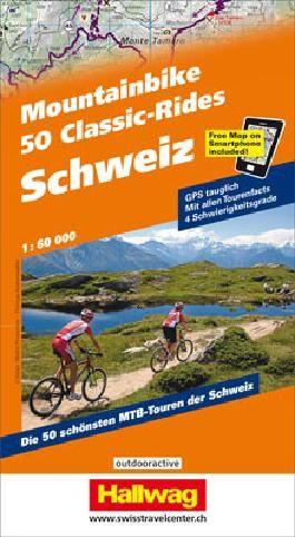 Schweiz, 50 Mountainbike Classic-Rides