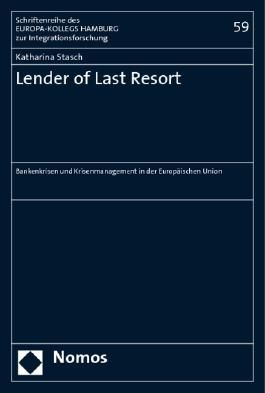 Lender of Last Resort