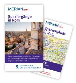 MERIAN live! Reiseführer Spaziergänge in Rom