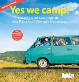 HOLIDAY Reisebuch: Yes we camp! Deutschland