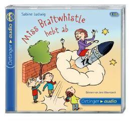 Miss Braitwhistle hebt ab (2 CD)