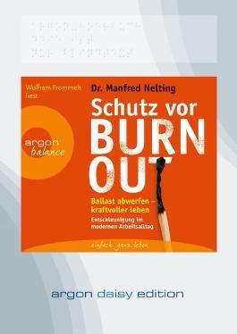 Schutz vor Burn-out, Audio-CD
