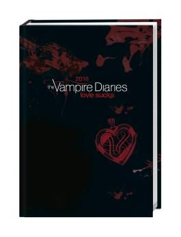 Vampire Diaries 17-Monats-Kalenderbuch A6 2016
