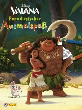 Disney Vaiana: Paradiesischer Ausmalspaß