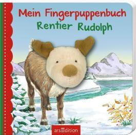 Mein Fingerpuppenbuch Rentier Rudolph