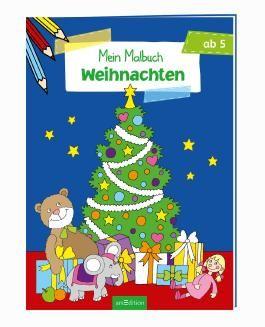 Malbuch ab 5 Jahren - Weihnachten VE 5