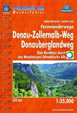 Fernwanderwege  Donau-Zollernalb-Weg  Donauberglandweg
