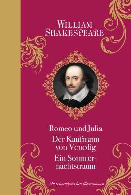 William Shakespeare: mit Illustrationen: Halbleinen