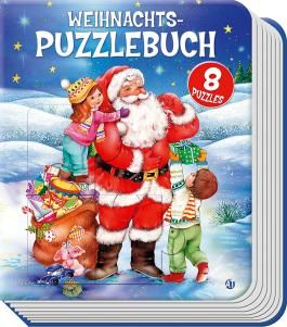 Weihnachts-Puzzlebuch